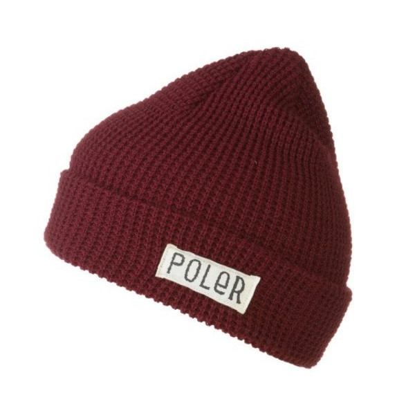 Poler Workerman Beanie Burgundy