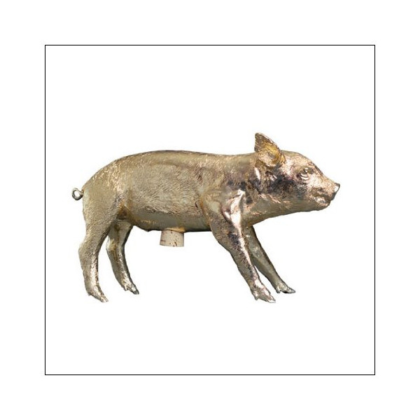 Areaware Pig Bank, color = Gold