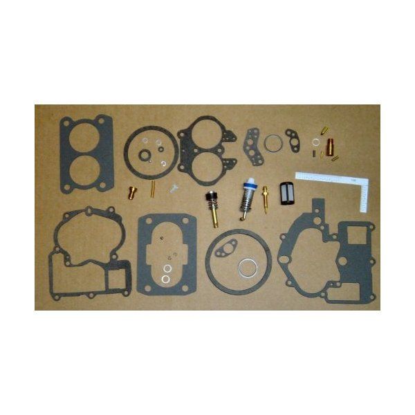 Carburetor Repair Kit fits ALL Mercruiser Mercarb 2 bbl replaces 3302-804845 and more!