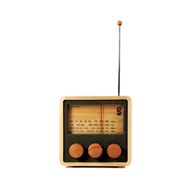 Areaware SSKMR Magno Model 2 Sustainable Table Radio