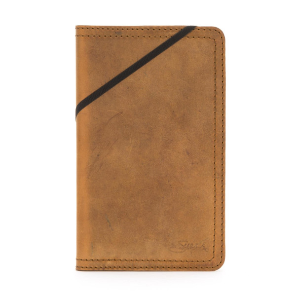 Saddleback Leather Medium Moleskine Cover, Tobacco