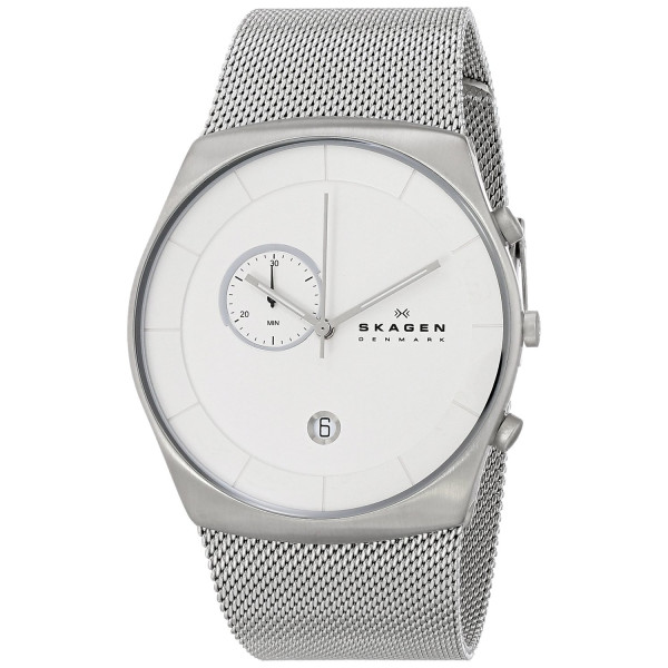 Skagen Men's SKW6071 Klassik Analog Display Analog Quartz Silver Watch