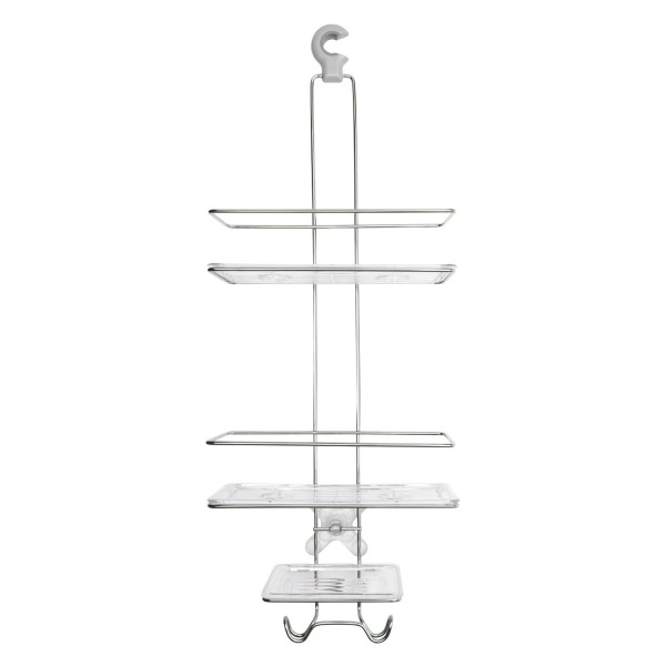 OXO Good Grips Stainless Steel 3-Tier Shower Caddy 2.0