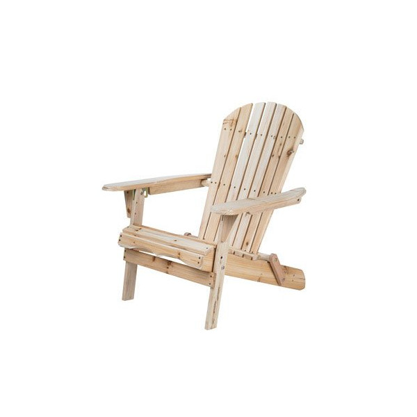 Merry Garden Adirondack Folding Chair, Wood