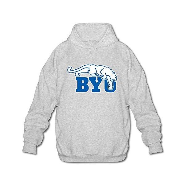 FUDI Men's BYU Cougars Hoodie XXL Ash