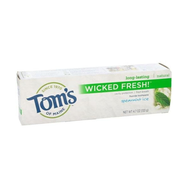 Tom's of Maine Wicked Fresh Toothpaste, Spearmint Ice