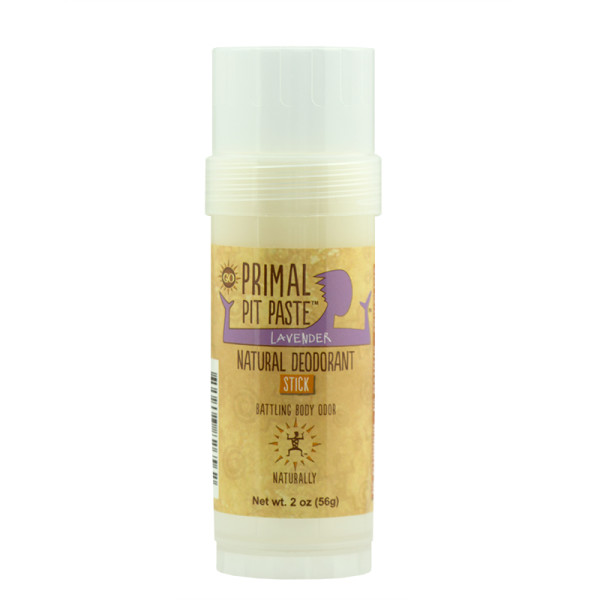 Primal Pit Paste Stick Natural Deodorant Lavender 2 Ounces