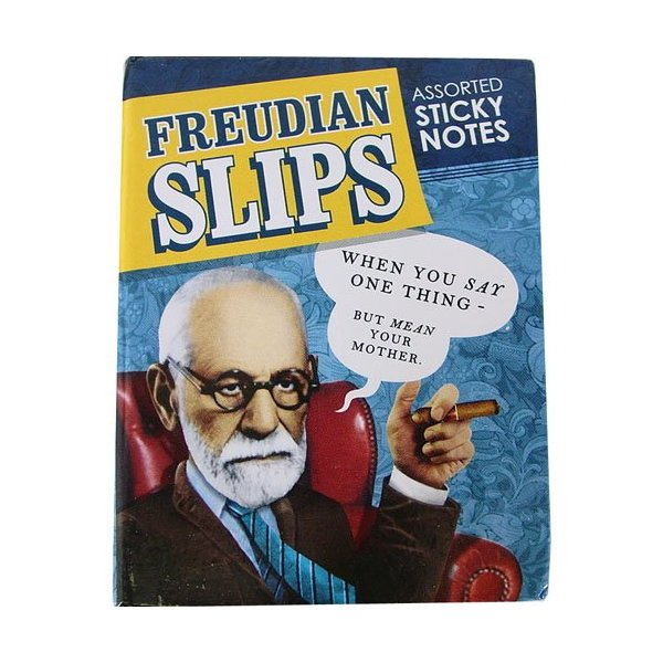 FREUDIAN FREUD SLIPS SICKY NOTES