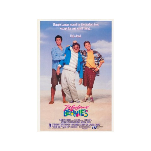 Weekend at Bernies 27 x 40 Movie Poster - Style B