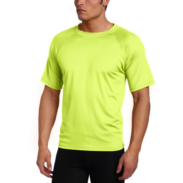 Kanu Surf Men's Solid Rashguard Swim Tee