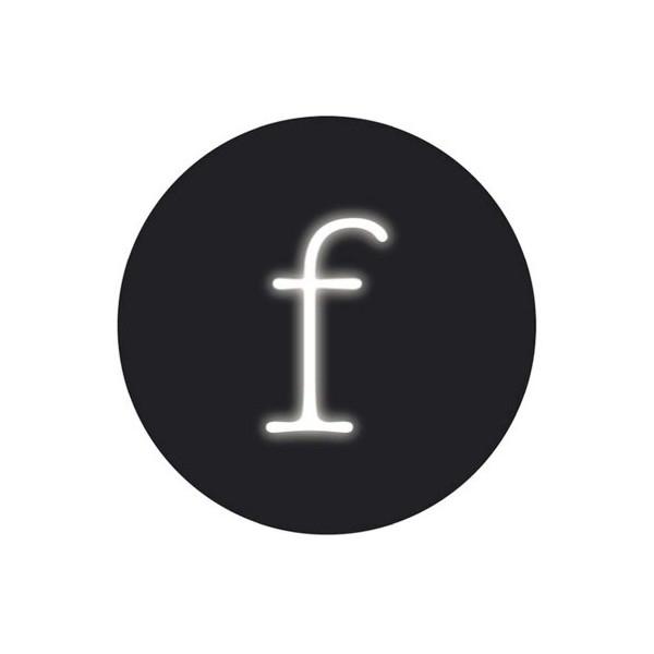 "Seletti ""Neon Font"" Neon Lamp Shaped, F"