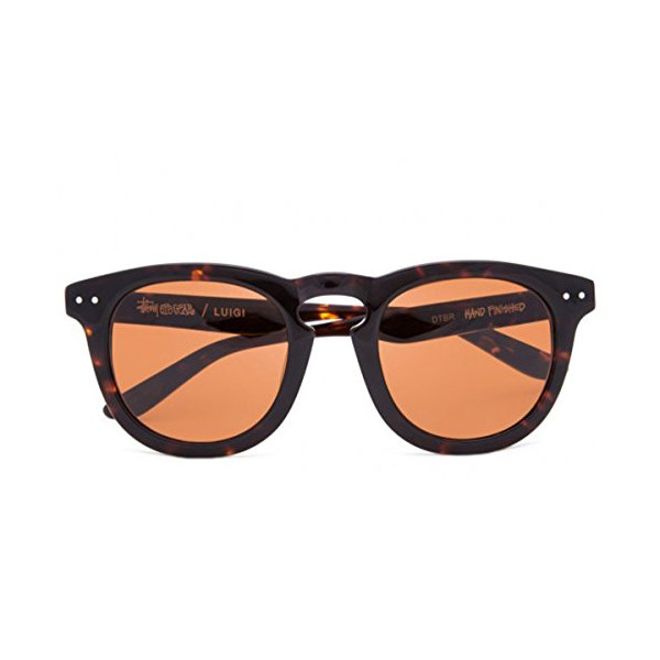 Luigi Sunglasses (Dark Tortoise/Brown)