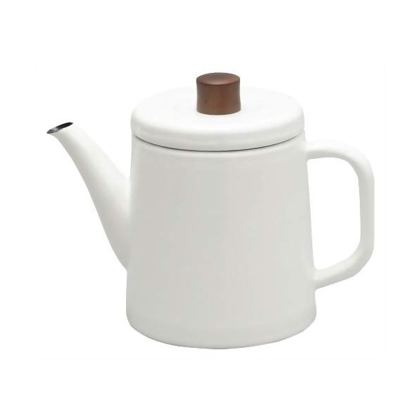 Noda Horo Enamel Pottle, White