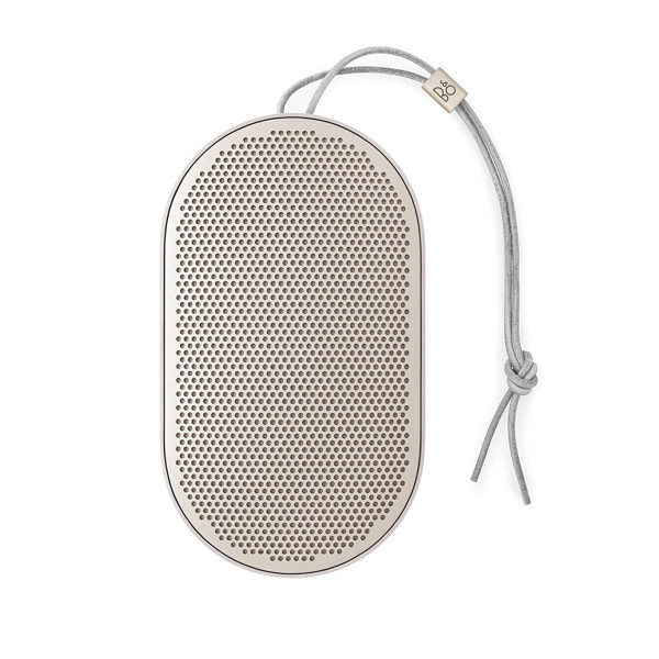 B&O PLAY Bang & Olufsen Beoplay P2 Portable Bluetooth Speaker, Sand Stone