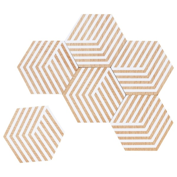 Areaware Table Tiles, White