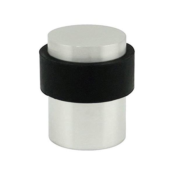INOX DSIX02-32D Cylindrical Floor Mount Door Stop, Satin Stainless Steel