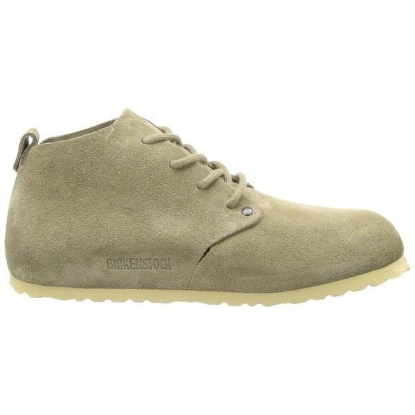 Birkenstock Men's Dundee Taupe Nubuck Boots