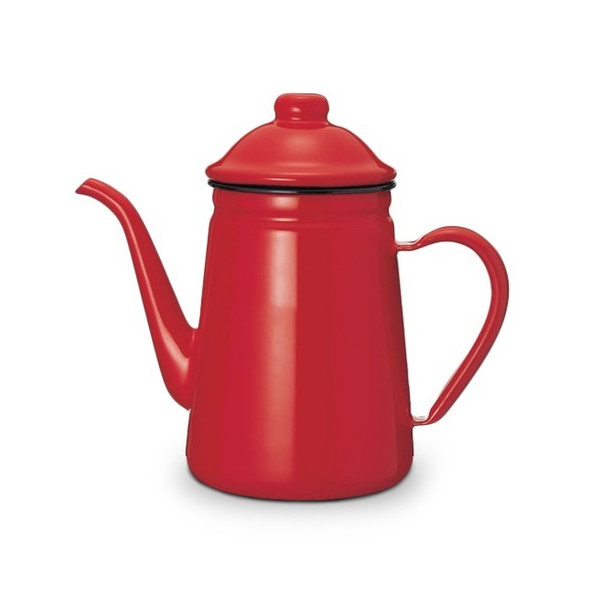 KALITA Thin-Spout Enamel Pot 1L
