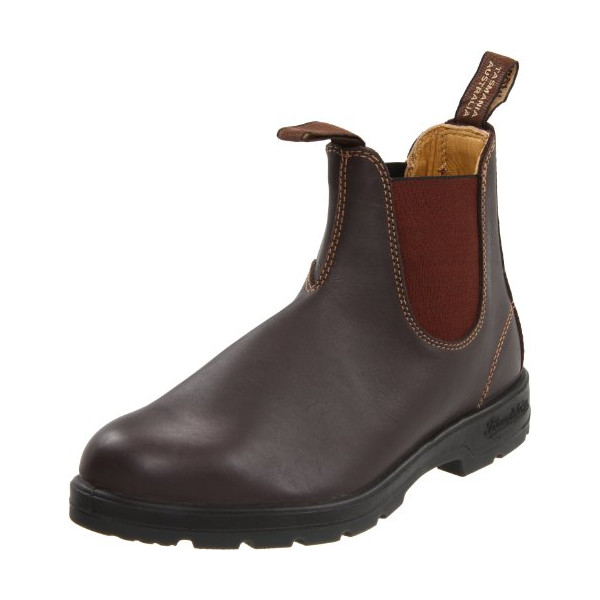 Blundstone 550 Slip On Boot,Brown,AU 9 M (US Men's 10 M)