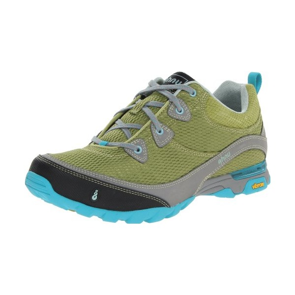 Ahnu Women's Sugarpine Air Mesh Hiking Shoe,Dark Citron,8.5 M US