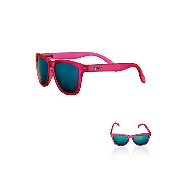 goodr RUNNING SUNGLASSES - No Slip, No Bounce, UV Polarized (Pink)