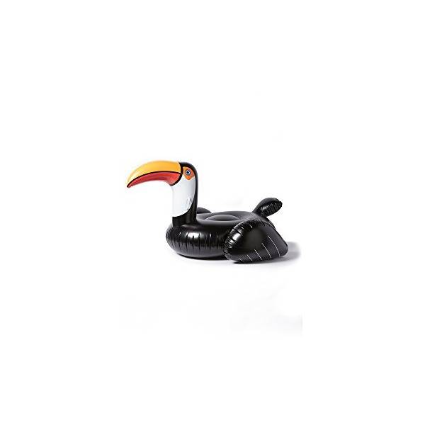 SunnyLife Women's Inflatable Toucan, Black/Multi, One Size