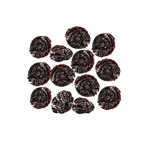 Indus Organic Dried Sour Cherries, 16 Oz, Sulfite Free, No Added Sugar, Freshly Packed (Pitted)