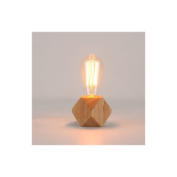 QHY- Brief Fashion Modern The Nordic / IKEA Full Wood Table Lamps Desk Lights Study Reading Lighting , 110-120V