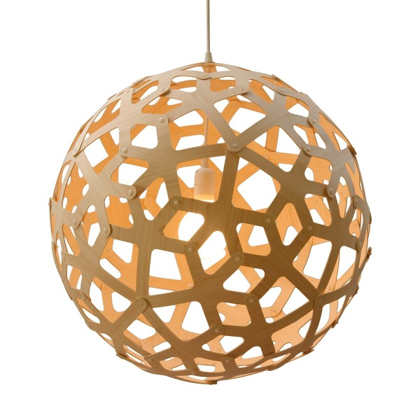 Coral Pendant Light 15.5""