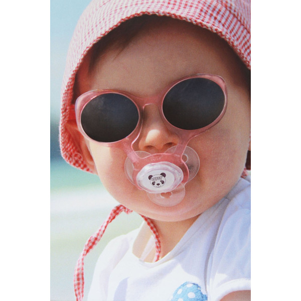 Lytot Pacifier-Sunglasses 0-36 months, Premium quality eye protection, BPA and Phthalates Free, includes 2 Pacifiers