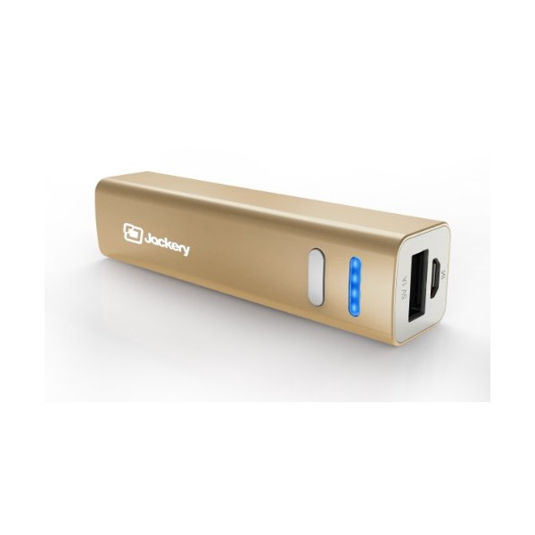 Jackery® Mini Premium iPhone Charger 3200mAh Power Pack - Ultra-Compact Aluminum Portable Battery Charger External Battery Pack for Apple iPhone 6 Plus, 6, 5S, 5C, 5, 4S, iPad, Air, Mini, Samsung Galaxy S5, S4, S3, Note, Nexus, LG, HTC, Moto. Power Bank,