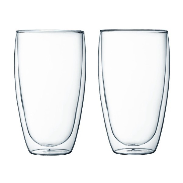 Bodum Pavina Double-Wall Thermo Glasses, Set of 2