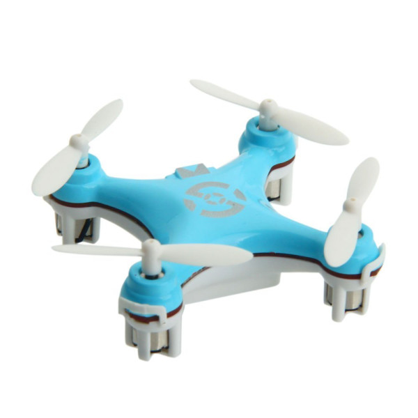 ZPS(TM) Cheerson Cx-10 Mini 2.4g 4ch 6 Axis LED Rc Quadcopter Airplane Blue