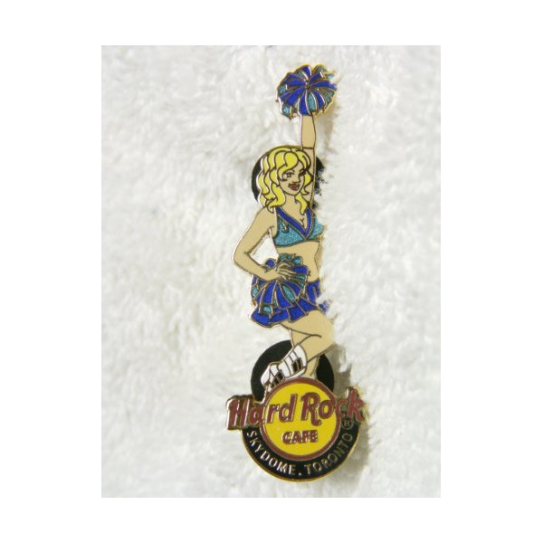 Hard Rock Cafe Skydome, Toronto Cheerleader with Pom-Pom's, Limited Edition 500, Hologram, Fantasy Lapel Pin