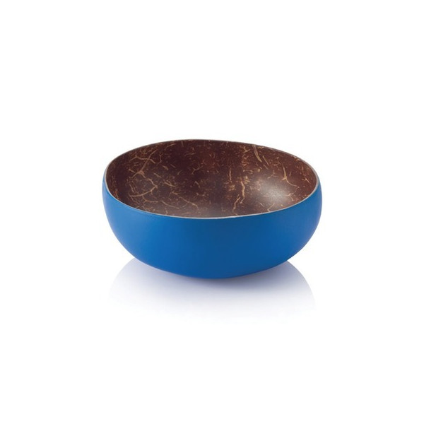 Bambu Coconut Bowl, Cobalt