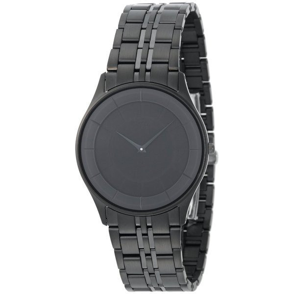 Citizen Men's Eco-Drive Stiletto Black Ion-Plated Watch
