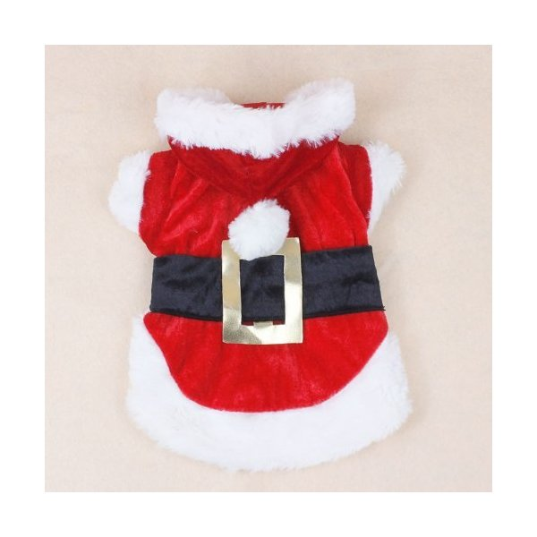Colorfulhouse Christmas Dog Clothes Santa Dog Costumes Pet Apparel New Design (M)