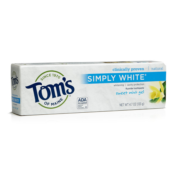Tom's of Maine Simply White Toothpaste, Sweet Mint Gel