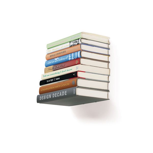 Umbra Conceal, Invisible Floating Bookshelf