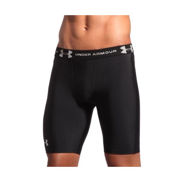 "Men's HeatGear® Compression 7"" Shorts Bottoms by Under Armour"