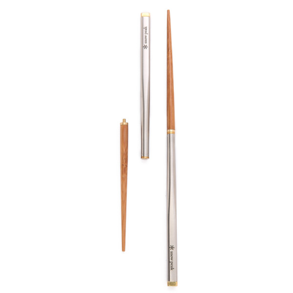 Snow Peak Bamboo Carry-On Chopsticks