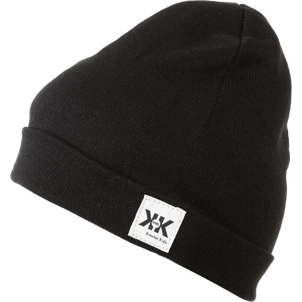 Krochet Kids intl. Helm Beanie Black, One Size