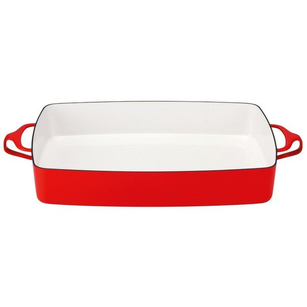 Dansk Kobenstyle Rectangular Baker, Chili Red