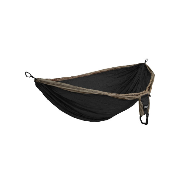Eagles Nest Outfitters Double Deluxe Hammock, Khaki/Black