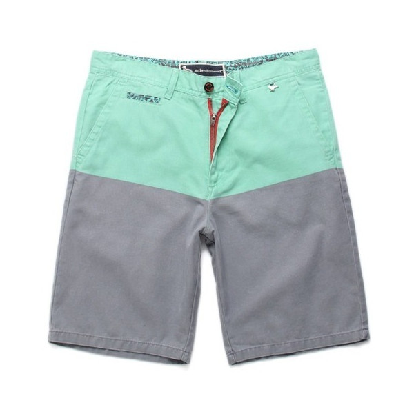 Modern Amusement Mens Parker Blockhead Shorts