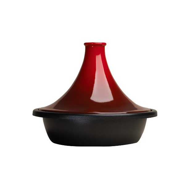Le Creuset Cast Iron and Stoneware Tagine - Cerise