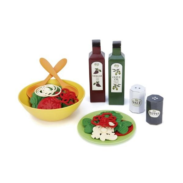Green Toys 16 Piece Salad Set