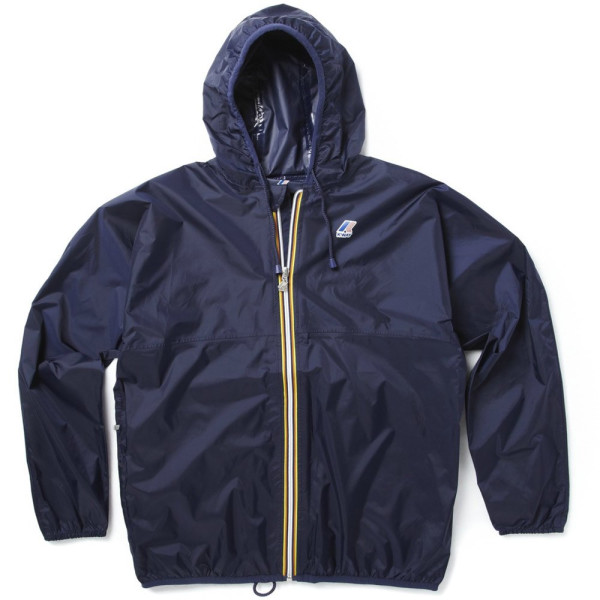 K-Way Claude Full Zip Jacket Medium Navy