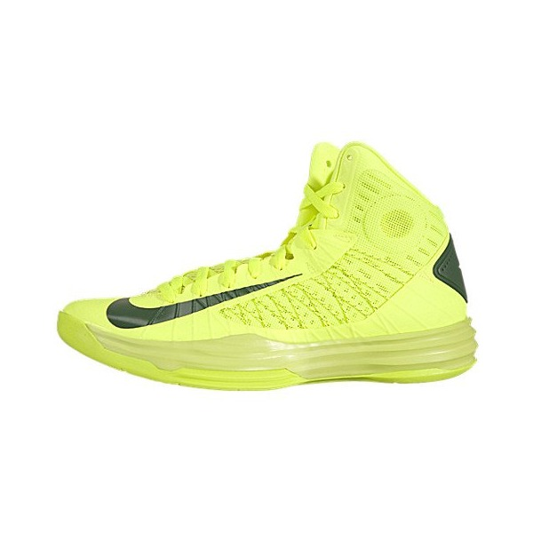 Nike Lunar Hyperdunk 2012 - Voltage / Gorge Green, 11.5 D US