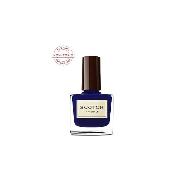 Scotch Naturals Non-Toxic Nail Polish, Flying Scotsman (rich navy creme)